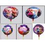 Balão Metalizado Frozen Enfeite De Mesa Tam:21cm Kit/20 Un