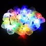 Mini Micro Led Lampada Festa Balão Decoração Casamento Kit5