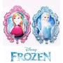 Balão Metalizado,frozen Ana E Elsa Kit/16 Balões + 4 Olaf