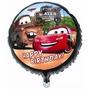 Balão Metalizado Carro Relampago Macquenn - Kit C/50 Balões