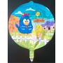 Balão Metalizado Galinha Pintadinha Para Usar Com Gás!