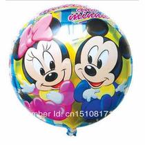 Balão Metalizado Minnie E Mickey Baby - Super Barato