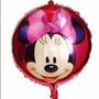 Balão Metalizado Minnie Laço Vermelho 20 Balões - Promoção