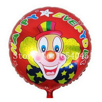 Balão Metalizado Bexiga Palhaço - 10 Unid