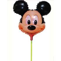 Kit Balão Bexiga Mickey 14 Polegadas De Mesa (kit 20 Unid)