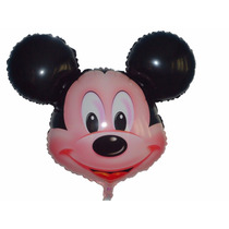 Balão Metalizado Mickey Kit/12 Frete Grátis