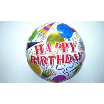 Balão Metalizado Happy Birthday Kids- Kit 10 Balões Promoção