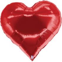 20 Bexiga Balão Metalizado 45cm Hélio Gas Festa Namorados