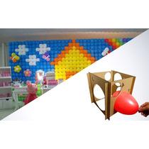 Combo! Tela De Balão 5 Kits + Medidor De Balão (3 Ao 9)