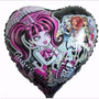 Balão Metalizado Monster High - Kit Com 25 Unidades
