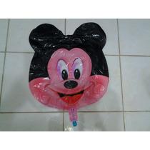 Balão Cabeça Mickey 60cm Kit C/10 Unidades Vazios