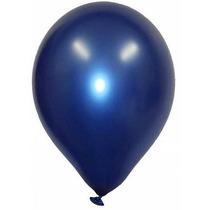 Kit De Balão São Roque Nº 7 Cintilante Azul C/ 3 Pacotes