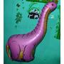 Balão Metalizado Dinossauro Gigante - Kit 06 Balões