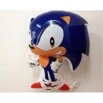 Balão Metalizado Sonic Kit Com 25 Balões