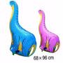 Balão Metalizado Dinossauro Kit/6 Unidades