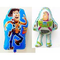 Balão Metalizado Toy Story, Buzz, Wood Kit/12 Unidades