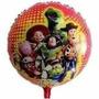 Kit C/ 10 Balão Metalizado Toy Story - R$ 28,99