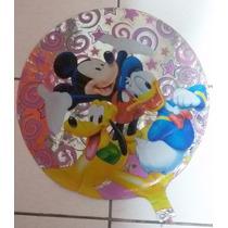 Balão Metalizado Turma Da Disney - 10 Balões - Promoção