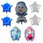 Balão Metalizado Frozen Kit Especial Festa Decoração