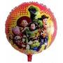 Balão Metalizado Toy Story Buzz Wood Toda Turma Kit/12 Unida