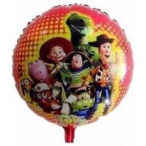 Balão Metalizado Toy Story Buzz Wood Toda Turma Kit/25 Unida