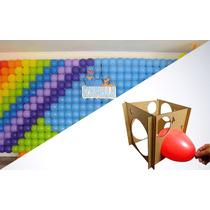 Combo! Tela De Balão 4 Kits + Medidor De Balão (3 Ao 9)