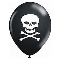 Balão Bexiga Caveira Pirata
