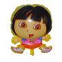 Balão Metalizado Dora Aventureira Kit/12 Frete Grátis