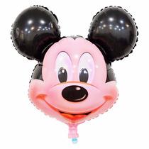 Balão Metalizado Mickey - Kit Com 10 Unidades