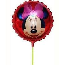 Balão Metalizado Minnie Para Centro De Mesa - 10 Balões
