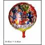 Balão Metalizado Vingadores Kit 10 Balões Decoração Festa