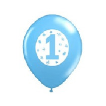 25 Balões/bexigas Estampa 1 Aninho - Menino