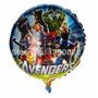 Balão Metalizado Vingadores Pacote 50 Balões Decoração Festa