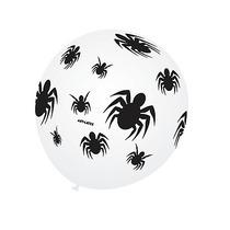 Balão Art-latex Nº9 Estampa De Aranhas - 50 Unidades