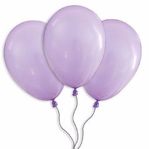Balões São Roque N° 9 Lilas Pacote Com 50 Bexigas