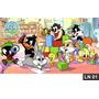 Looney Tunes Baby Painel 2,00x1,00m Lona Festa Aniversário