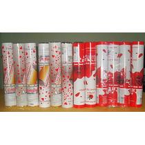 Lança Confetes Pétalas De Rosas, Coração Vermelho Caixa C/12