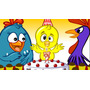 Painel Festa Decorativo -galinha-frozen-carros-tartar Outros