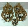 Coroa De Mesa 4 Unidades 6mm + Brinde-decoração De Festas