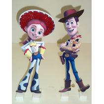 2 Display Tema Toy Story Centro Mesa Enfeite Festa Infantil