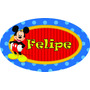 Placa Mickey Personalizada Enfeite Parede Painel Decoração