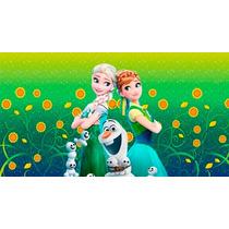 Painel De Festa Infantil 2,40x1,30, Frozen Fever E Outros