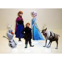 Kit Frozen 5 Display De Chão