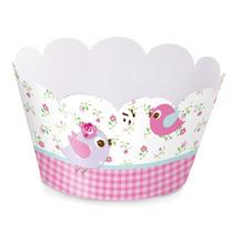 Wrapper Para Mini Cupcake Com 12 Unidades Cromus Jardim Enca