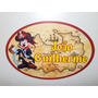 Placa Painel 80cmx55cm Personalizada Mickey Pirata Festa