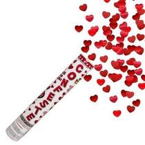 Lança Confete Para Festas Pétalas De Rosas Vermelhas 40cm