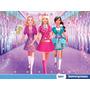 Painel Barbie 2,00x1,50m Lona Festa Banner Aniversario