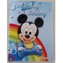 Convite Aniversario Mickey Baby (10 Unidades)