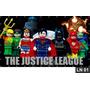 Liga Da Justiça Lego Painel 2,00x1,00 Frete Grátis Festa