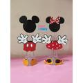 Kit 10 Tubetes Mickey Minnie Scrap Disney